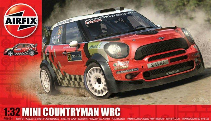 airfix  mini countryman WRC 1:32 scale