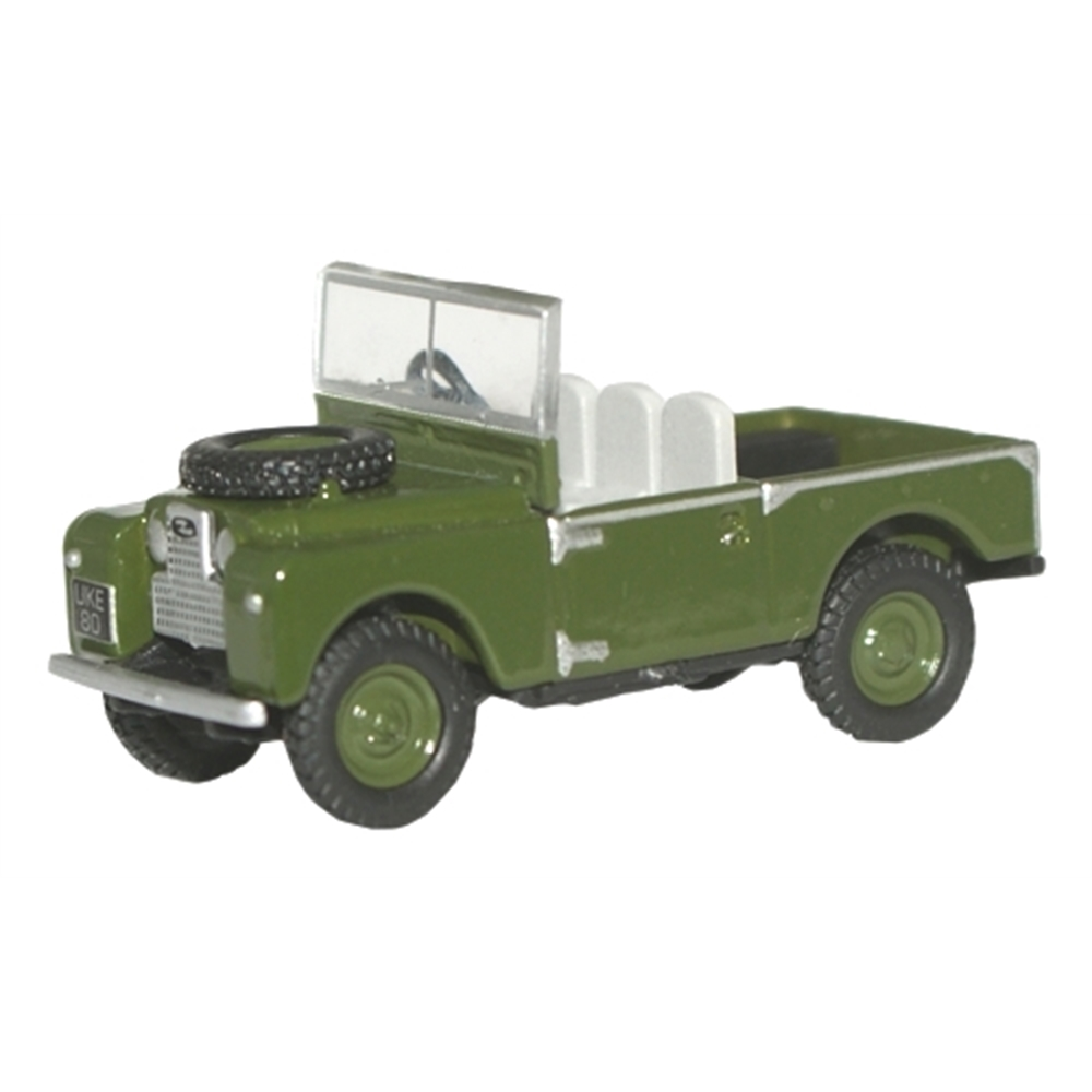 OXFORD MODEL BRONZE GREEN LANDROVER 1:76 scale