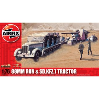airfix 88mm gun and tractor