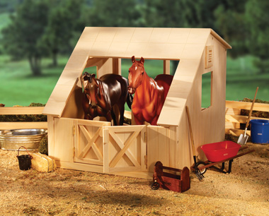 Breyer Wood Stable[ figures not included]