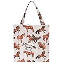 running horse design eco bag