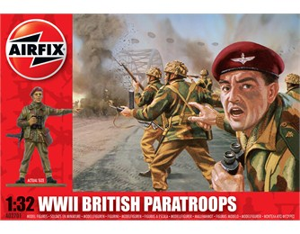 airfix   WWll BRITISH PARATROOPS 1:32 SCALE