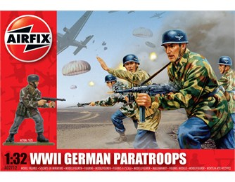 airfix  wwll german paratroops 1:32 scale