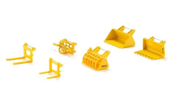 SIKU ACCESSORIES SET FOR FRONT LOADER 1:32 scale