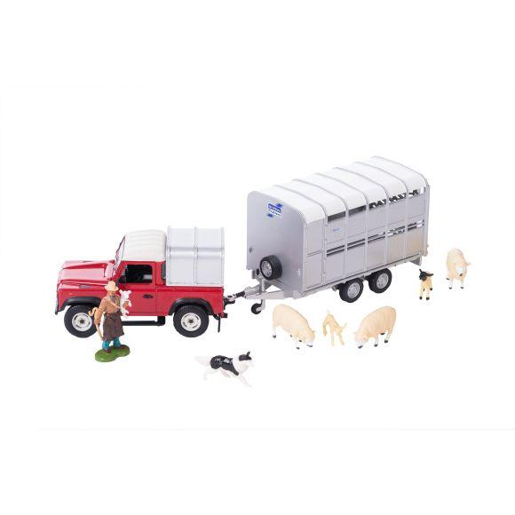 Sheep farmer set 1:32 scale
